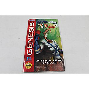 earthworm jim 2 genesis manual