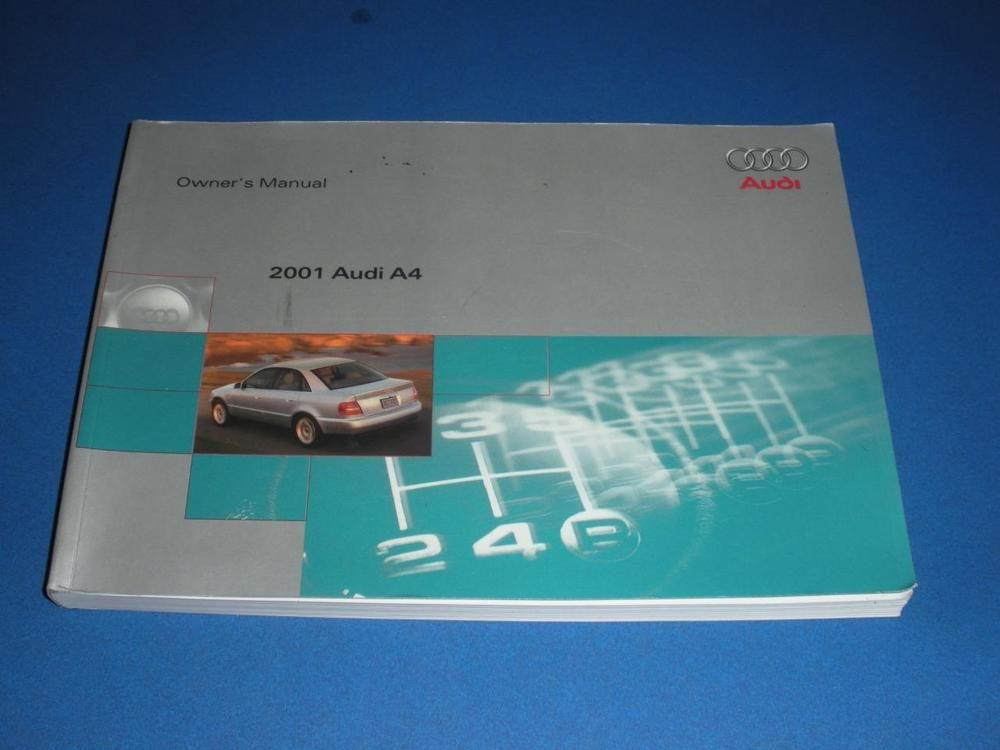 2001 audi a4 owners manual