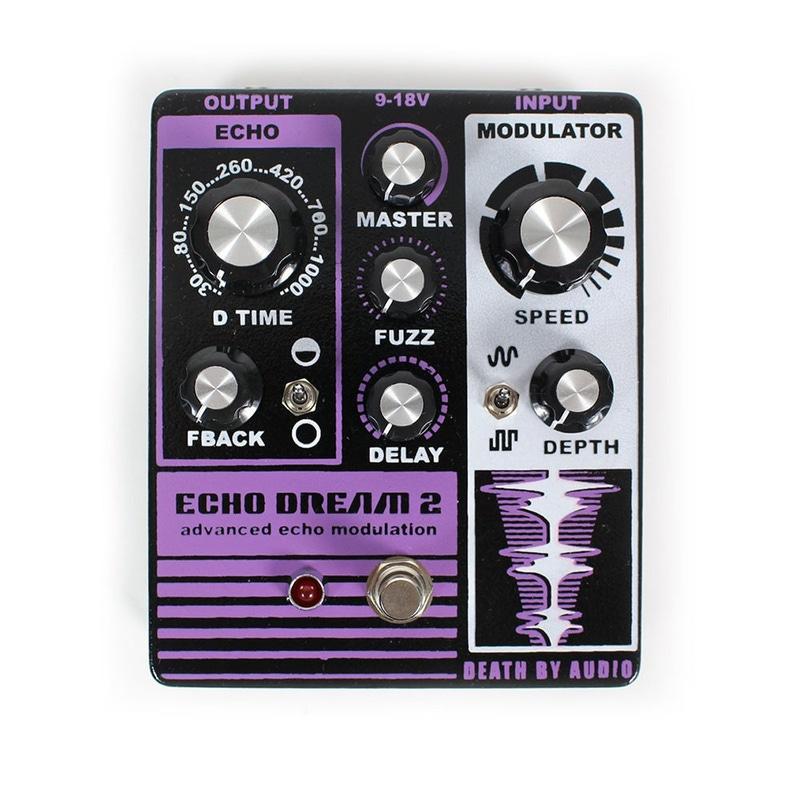 death by audio echo dream 2 manual