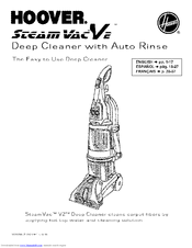 hoover steamvac agility owners manual