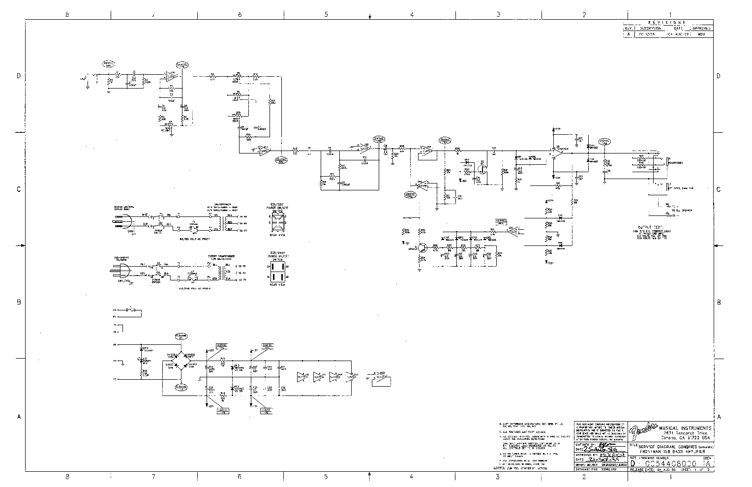 fender frontman 212r service manual