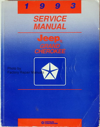 jeep grand cherokee factory service manual