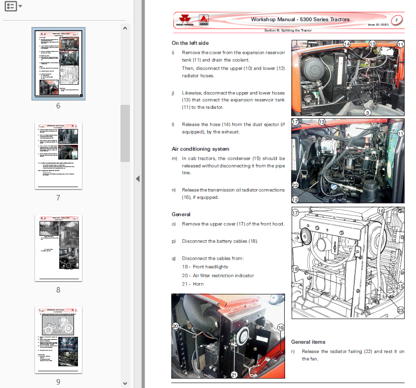 massey ferguson 1533 owners manual