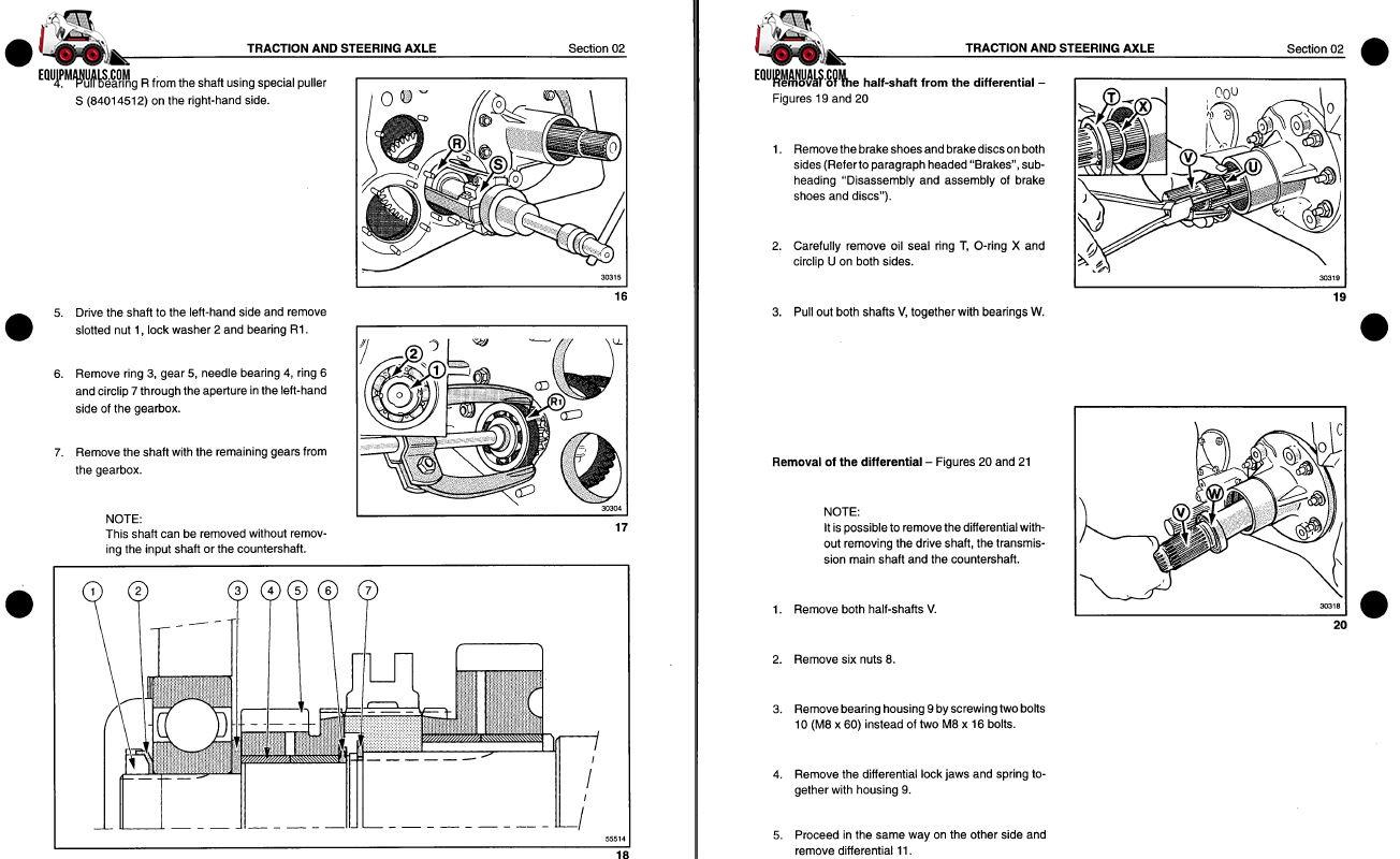 massey ferguson gc1705 service manual