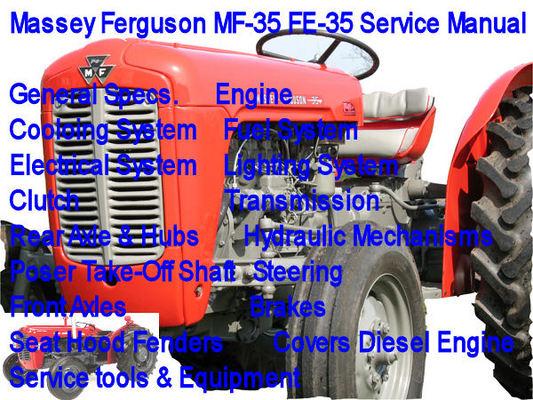 massey ferguson mf 50b service and repair manual pdf