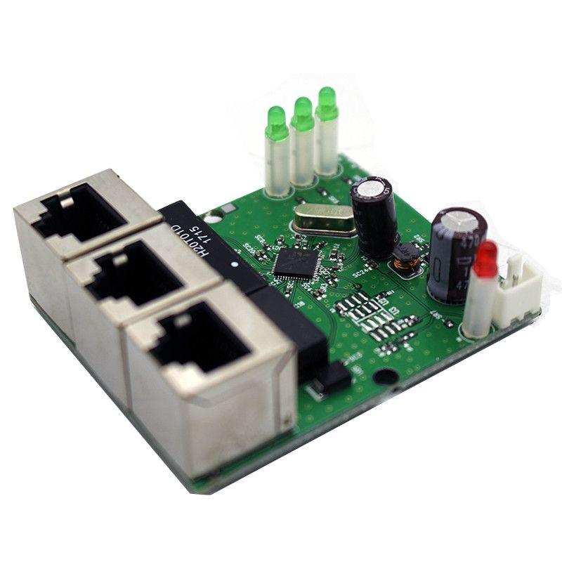 mini 2 port rj45 manual network switch