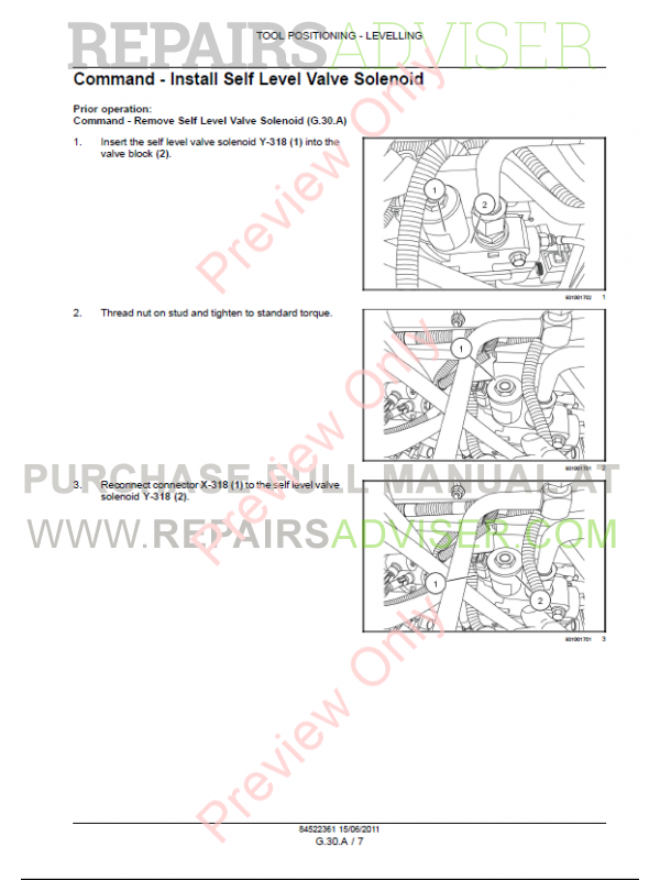 new holland c227 service manual
