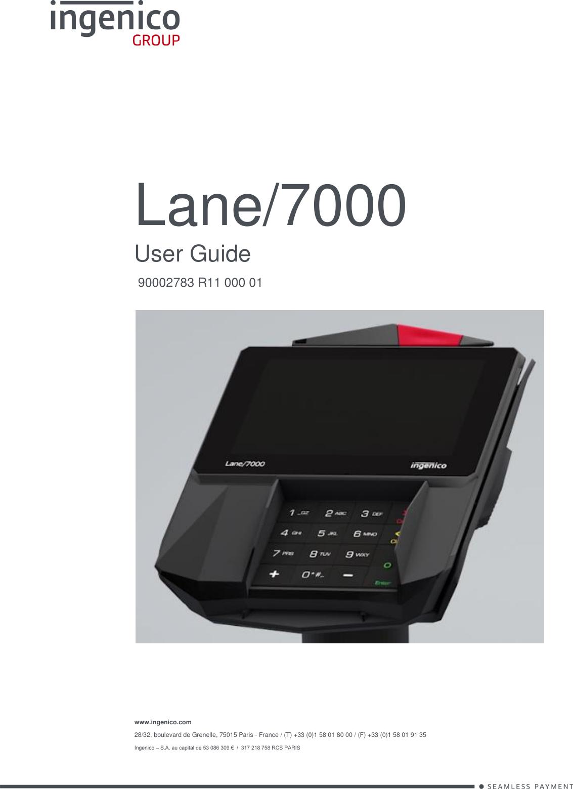 omni secure terminal user manual
