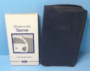 owners manual for 1999 ford taurus