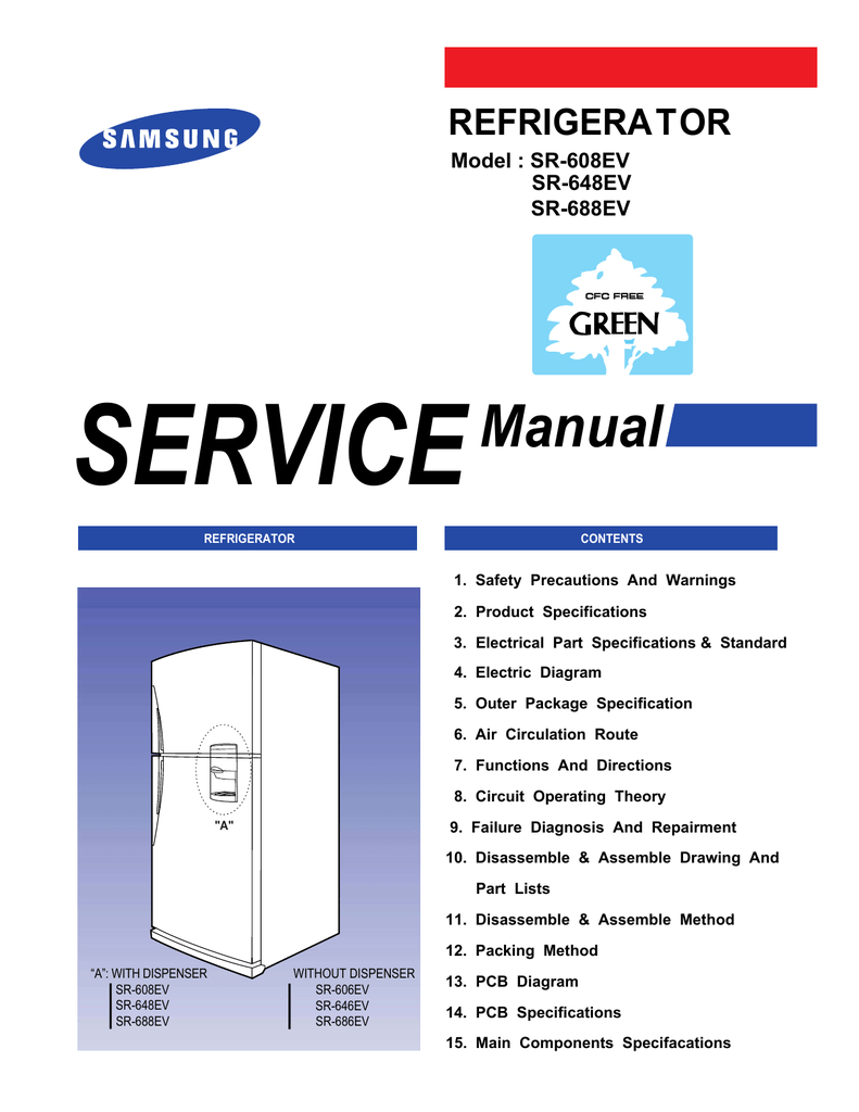 samsung hp s5053 service manual