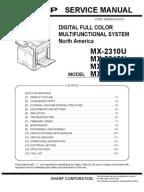 sharp ar m160 service manual pdf