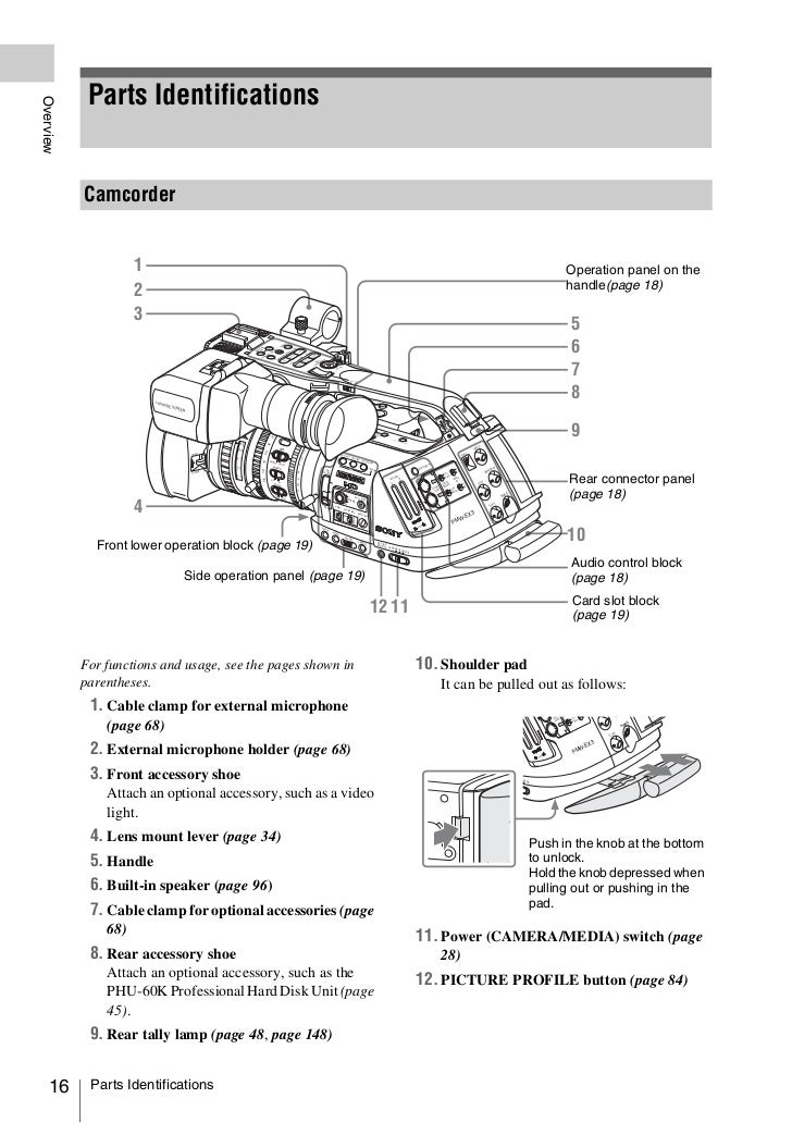 sony pmw 320 user manual