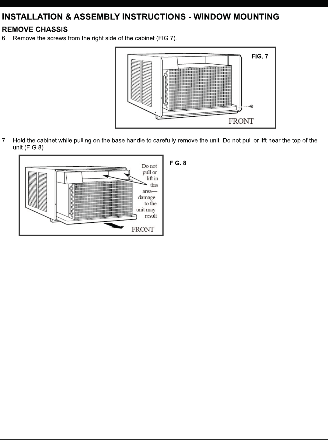 tcl portable air conditioner service manual